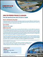LNG-To-Power Project, Canada
